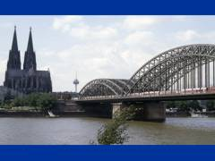 Rhine bridge at Koln