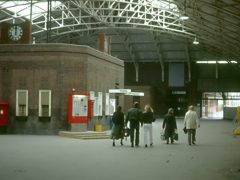 Booking hall at Tilbury Riverside
